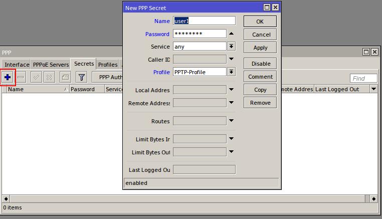 MikroTik CHR: How to set-up PPTP VPN Server